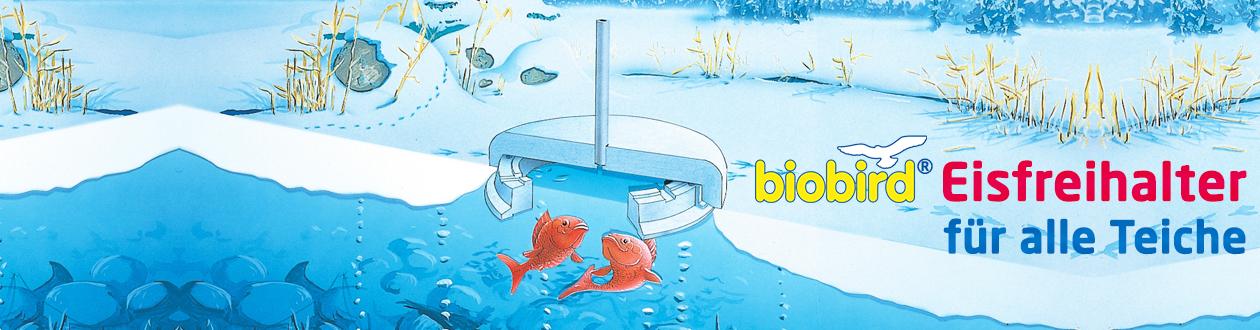 biobird® Eisfreihalter 40 cm - für alle Teiche